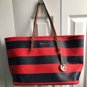 Michael Kors Striped Bag